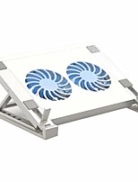 cheap -Laptop Cooling Pad with Dual Fan Laptop/Tablet Stand Luminous Gaming Laptop Cooler Cooling Fan for Laptop