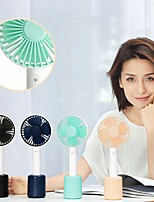 cheap -Mini Handheld Fan Rechargeable Usb Fan Lightweight Portable Desktop Table Fan ABS Material 1800mA Battery 4.5w Power Gadget