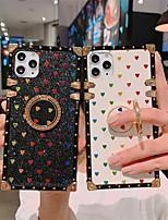 preiswerte -Telefon Hülle Handyhüllen Für Apple Rückseite iPhone 12 Pro Max 11 SE 2020 X XR XS Max 8 7 Stoßresistent Staubdicht mit Halterung Herz TPU