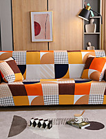 cheap -Sofa Cover Geometric Yarn Dyed / Printed Polyester Slipcovers