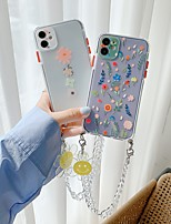 cheap -Phone Case For Apple Back Cover iPhone 12 Pro Max 11 SE 2020 X XR XS Max 8 7 Portable Shockproof Dustproof Flower TPU