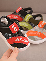 cheap -Unisex Boys' Sandals Children's Day Mesh PU Mesh Little Kids(4-7ys) Big Kids(7years +) Daily Home Water Shoes Walking Shoes Buckle Black Green Gray Summer
