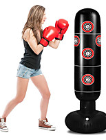 cheap -Punching Bag for Kids, Inflatable Kids Punching Bag with Stand for Adults 63 Inch Freestanding Punching Bag for Practice Karate, Taekwondo, MMA, Kids Adults Standing Boxing Bag