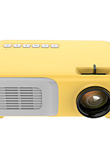 cheap -J21 Mini Projector LCD Projector  Video Projector  Outdoor Entertainment with HDMI USB AV Interfaces and Remote Control