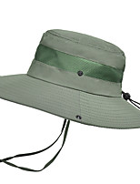 cheap -Sun Hat Hiking Hat Summer Outdoor Sun Protection Breathable Sweat wicking Hat Navy Black khaki for