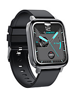 cheap -F60 Unisex Smartwatch Bluetooth Heart Rate Monitor Blood Pressure Measurement Calories Burned Thermometer Media Control Stopwatch Call Reminder Sleep Tracker Sedentary Reminder Find My Device