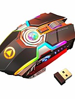 cheap -Wireless Gaming Mouse Silent Ergonomic 7 Keys RGB Backlit 1600 DPI mouse Rechargeable Gaming Mouse for Laptop Computer Pro Gamer