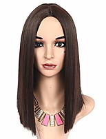 cheap -meiriyfa short straight bob wig middle part wig synthetic hair shoulder length wig heat resistant for women with wig cap for daily party cosplay halloween-14-inch (black)
