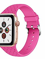 cheap -compatible with apple watch straps 44mm, 42mm, 40mm, 38mm, soft silicone, replacement strap for iwatch series 5/4/3/2/1 (42 mm / 44 mm, m / l , # 10).