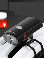 cheap -LED Bike Light Front Bike Light Rear Bike Tail Light LED Bicycle Cycling Waterproof Super Bright Durable Rechargeable Li-Ion Battery 300 lm USB Camping / Hiking / Caving Everyday Use Cycling / Bike