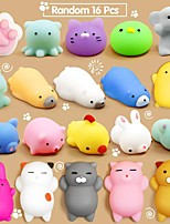 cheap -Mochi Squishy Toys, 30 Pcs Mini Squishy Party Favors for kids Animal Squishies Stress Relief Toys Cat Panda Unicorn Squishy Squeeze Toys Kawaii Squishies Birthday Gifts for Boys & Girls Random