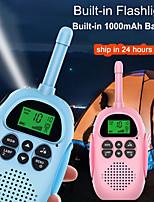 cheap -DJ100 Walkie Talkie Handheld Waterproof Flashlight Two Way Radio 3KM-5KM 3KM-5KM