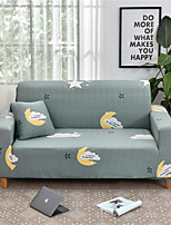 cheap -Cartoon Print Dustproof All-powerful Slipcovers Stretch Sofa Cover Super Soft Fabric Couch Cover with One Free Boster Case(Chair/Love Seat/3 Seats/4 Seats)