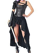 cheap -Women's Not Specified Corset Dresses - Fashion, Buckle Black S M L