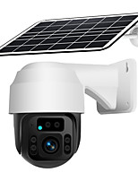 cheap -Wireless PTZ 1080P  4GCamera IP WIFI CCTV Webcam Security LET With Solar Panel