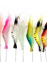 cheap -1 pcs Fishing Lures Soft Bait Craws / Shrimp Bass Trout Pike Lure Fishing