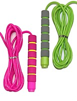 cheap -Adjustable Soft Skipping Rope with Skin-Friendly Foam Handles for Kids, Children, Students(2 Pack)