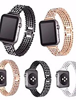 cheap -Smart Watch Band for Apple iWatch 1 pcs Business Band Zinc alloy Replacement  Wrist Strap for Apple Watch Series SE / 6/5/4/3/2/1