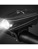 cheap -LED Bike Light Front Bike Light LED Bicycle Cycling Waterproof Smart Induction Super Bright Durable Rechargeable Li-Ion Battery 250 lm USB White Camping / Hiking / Caving Everyday Use Cycling / Bike