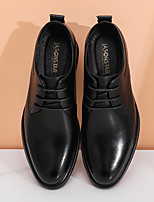 cheap -Men's Oxfords Wedding Leather (5013-2) Black pedal Black Spring & Summer