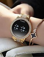 cheap -Women's Quartz Watches Analog Quartz Stylish Sparkle Diamond