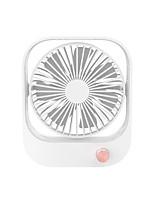cheap -2021 New Desktop Fan USB Charging Office White-collar Mini Stepless Speed Regulation Small Fan