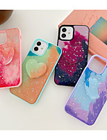 cheap -Phone Case For Apple Back Cover iPhone 12 Pro Max 11 SE 2020 X XR XS Max 8 7 Shockproof Dustproof with Stand Heart TPU