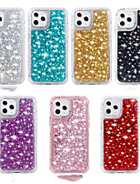 cheap -Bling Glitter Phone Cases For iPhone 12 Pro Max 11 SE 2020 X XR XS Max 8 7 6 Soft TPU Glitter Shine Shockproof Back Cover