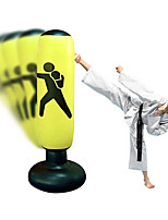 cheap -Punch it Punching Bag – Kicking Bag for All Ages – Premium Inflatable Punching Bag Kids – Resistance Training Kit for Women and Men – Durable PVC Material – Standing Boxing Bag – Resilient and Sturdy