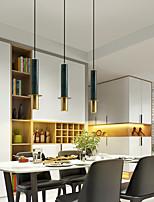 cheap -LED Pendant Light 12 cm Single Design Pendant Light Metal Electroplated Modern Nordic Style 220-240V
