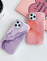 cheap -Phone Case For Apple Back Cover iPhone 12 iPhone 11 iPhone 12 Pro Max iPhone 12 Pro iphone 7/8 iPhone SE 2020 Shockproof Dustproof Marble TPU