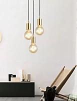 cheap -LED Pendant Light Modern Gold 10 cm Geometric Shapes Pendant Light Metal Vintage Style Electroplated Vintage Country 220-240V