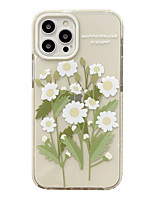 cheap -Phone Case For Apple Back Cover iPhone 12 Pro Max 11 SE 2020 X XR XS Max 8 7 Shockproof Dustproof Graphic Flower TPU