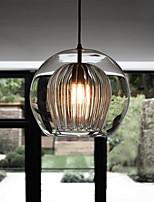 cheap -LED Pendant Light Glass Modern Nordic Style Globe Design 20cm 25cm 30cm Single Design 110-240 V