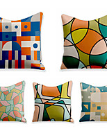 cheap -Double Side Cushion Cover 5PC Soft Decorative Square Throw Pillow Cover Cushion Case Pillowcase for Sofa Bedroom Superior Quality Machine Washable