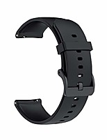 cheap -smartwatch  bands quick release tpu 22mm adjustable smartwatch replacement bracelets for men, women (22mm, black-tpu)