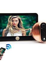 cheap -factory direct smart video doorbell electronic doorbell wifi doorbell anti-theft wireless dingdong doorbell
