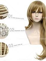 cheap -amazon's new cos wig original god lisa cosplay wig micro-volume long hair manufacturer spot wholesale