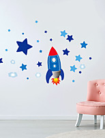 cheap -Space Ship Cloud Stars Can Be Removed Personality Fashion Creative Wall Paste Living Room Sofa Background Wall