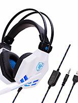 cheap -SOYTO SY850MV Gaming Headset USB 3.5mm Audio Jack PS4 PS5 XBOX Ergonomic Design RGB Lights InLine Control for Apple Samsung Huawei Xiaomi MI  PlayStation Xbox