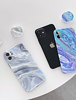 cheap -Phone Case For Apple Back Cover iPhone 11 Pro Max SE 2020 X XR XS Max 8 7 Shockproof Dustproof Lines / Waves TPU