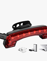 cheap -LED Bike Light Tail Light LED Bicycle Cycling Waterproof Super Bright Remote Control / RC Durable Rechargeable Li-Ion Battery 1200 lm USB Red Camping / Hiking / Caving Everyday Use Cycling / Bike -