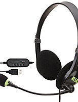 cheap -SOYTO SY440MV Gaming Headset USB Wired Ergonomic Design InLine Control for Apple Samsung Huawei Xiaomi MI  PC Computer Gaming