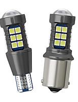 cheap -YoBis Light Car Led Light Retrofit T15 3030 27smd Reversing Light W16w Decoding Canbus Rogue Light