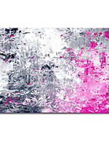 cheap -Oil Painting Handmade Hand Painted Wall Art Modern Abstract Particle Craft Painting Pink Bedroom Living Room Bar Club Home Decoration Dcor Stretched Frame Ready to Hang