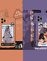 cheap -Demon Slayer: Kimetsu no Yaiba Phone Case For Apple Back Cover iPhone 12 Pro Max 11 SE 2020 X XR XS Max 8 7 Shockproof Dustproof Cartoon TPU