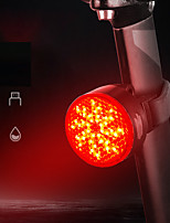 cheap -LED Bike Light Rear Bike Tail Light LED Bicycle Cycling Waterproof Super Bright Durable Rechargeable Li-Ion Battery 40 lm USB Camping / Hiking / Caving Everyday Use Cycling / Bike / IPX 6