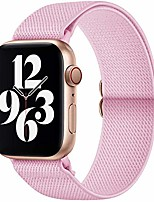 cheap -smartwatch band  compatible with apple watch strap, nylon sport strap for iwatch series 6 / se / 5/4/3/2/1, pink, 38 / 40mm