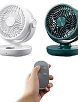 cheap -USB Rechargeable Desk Fan 10000mAh Battery Operated Cooling Fan Air Circulator Fan with Remote Control 4 Speeds Timing Function