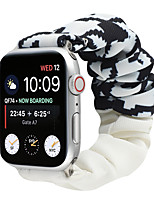cheap -Smart Watch Band for Apple iWatch 1 pcs Printed Bracelet Elastic band Fabric Replacement  Wrist Strap for Apple Watch Series SE / 6/5/4/3/2/1